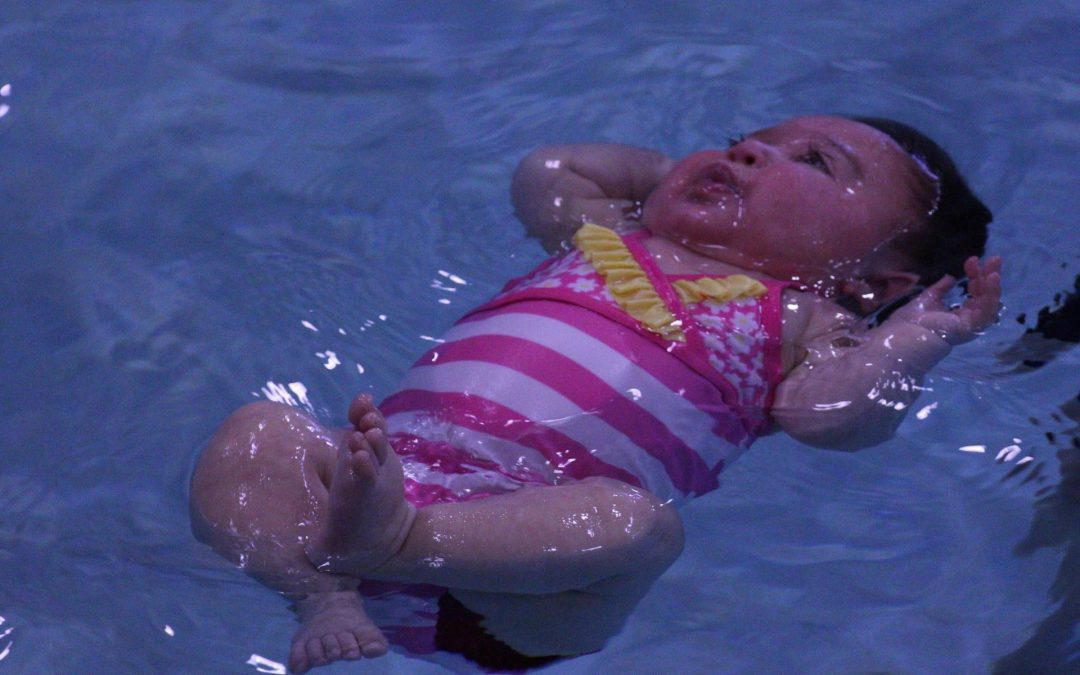 When can babies go swimming?